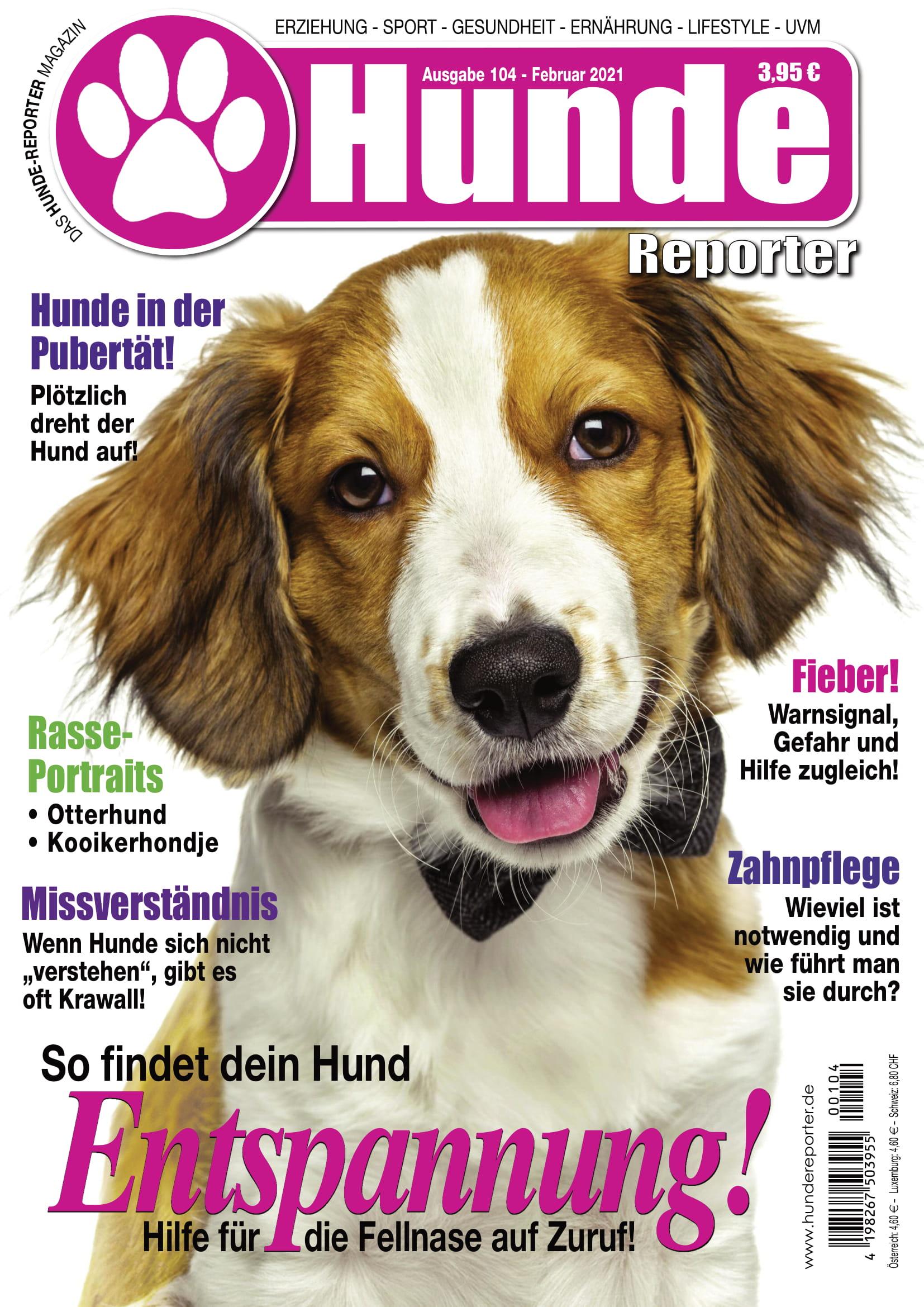 Hunde Reporter | Ausgabe 104 - Februar 2021