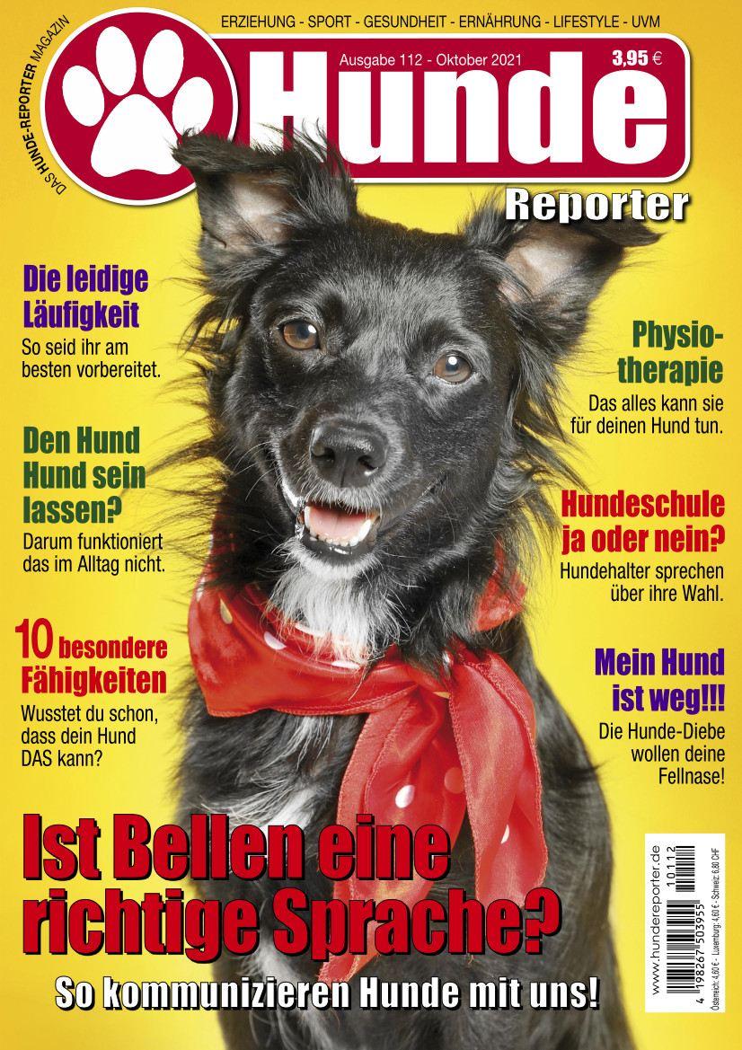 Hunde Reporter | Ausgabe 112 - Oktober 2021